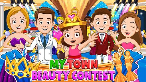 My Town : Beauty Contest - Girls Dress up & makeup screenshots 1