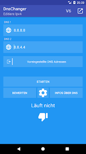 DNS Changer (Ohne Root - Ipv6) Screenshot