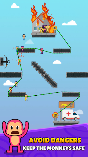 Monkey Rescue Puzzle 1.0.2 screenshots 7