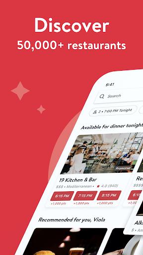 OpenTable: Restaurants Near Me 14.11.0.3617 Screenshots 1