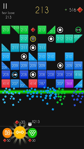 Balls Bricks Breaker 2 - Puzzle Challenge modavailable screenshots 2
