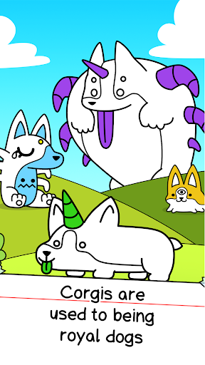 Corgi Evolution - Merge and Create Royal Dogs  screenshots 1
