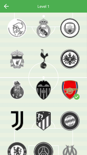 Soccer Club Logo Quiz: more than 1000 teams 1.82 screenshots 4