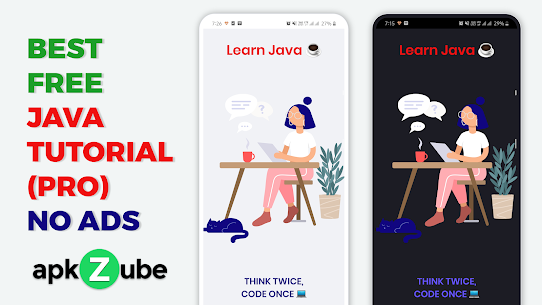 Learn Java  Programming Tutorial – PRO (NO ADS) (MOD APK, Paid) v2.0 1