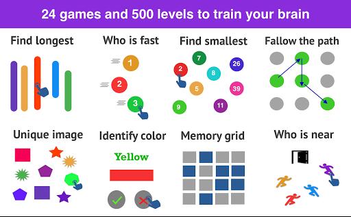 Brain Games- Impulse Brain training & Mind puzzles 1.0.6 screenshots 1