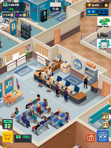 Idle Police Tycoon - Cops Game 1.2.1 screenshots 17