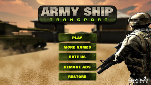 US Army Transport Tank Cruise Ship Helicopter Game apkdebit screenshots 4