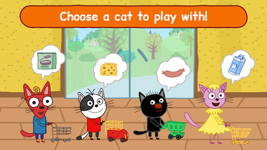 Kid-E-Cats Shopping Games for Kids & Three Kittens 6