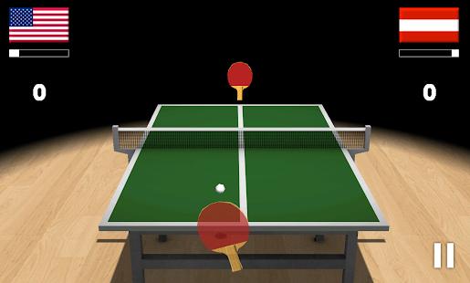 Virtual Table Tennis 3D screenshots 5
