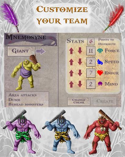 Fantasy Cave D&D Style RPG 2.01 screenshots 4