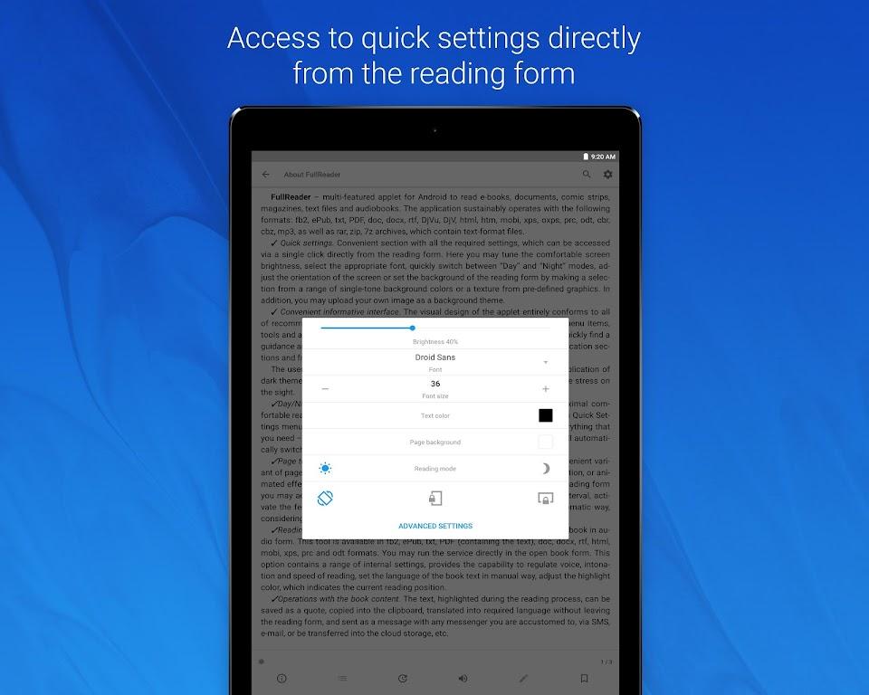 FullReader - all e-book formats reader  poster 14