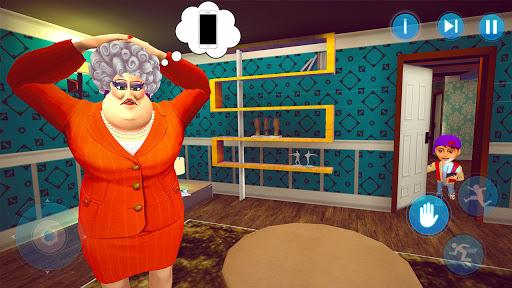 Scary Evil School Teacher 3D Spooky & Creepy Games screenshots 14