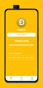 Doge Miner – Dogecoin Cloud Mining For Android 4