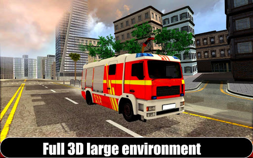American Fire Fighter 2019: Airplane Rescue apkpoly screenshots 6