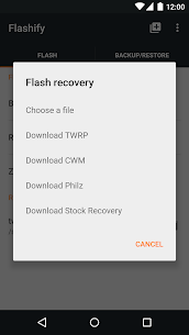 Flashify (for root users) 2