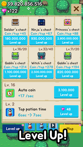 Tap Chest - Idle Clicker 4.9 screenshots 4