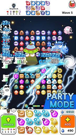 Auto Puzzle Defense : PVP Match 3 Random Defense  screenshots 3
