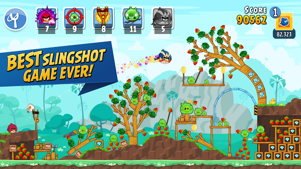 Angry Birds Friends poster 0