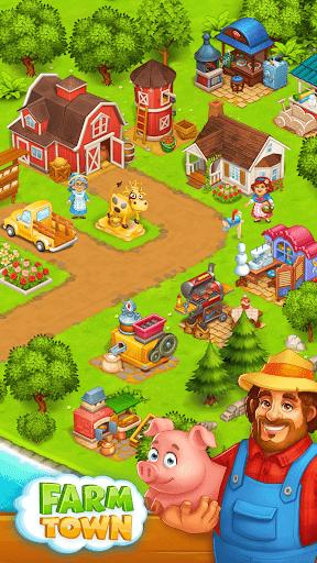 Farm Town: Happy village near small city and town  Screenshots 12