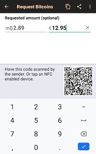 Bitcoin Wallet apktram screenshots 3