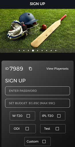 CricAuc: The Ultimate Cricket Auction 4.2.3 screenshots 2