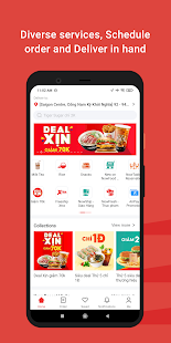 Now - Food Delivery 4.46.7 Screenshots 1