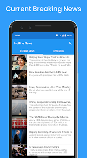Hotline News Screenshot