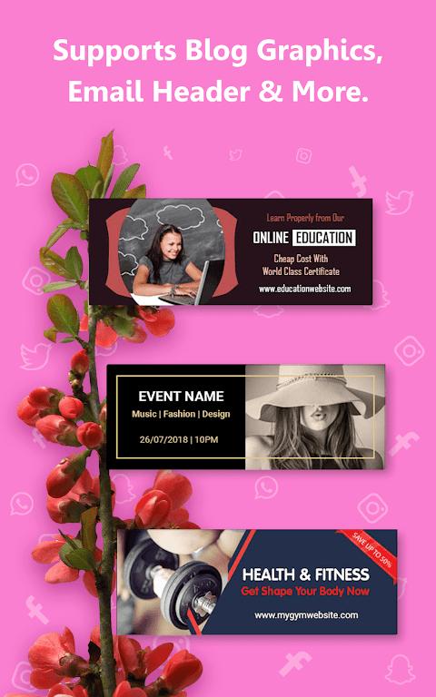 Social Media Post Maker, Planner, Graphic Design  poster 23