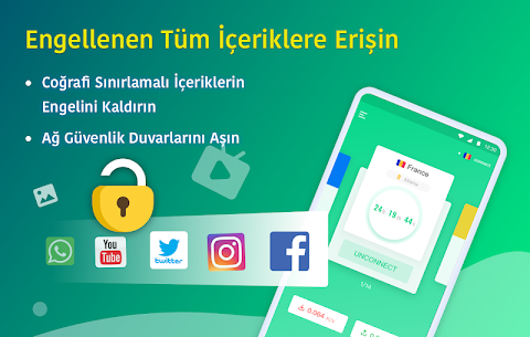 NetCapsule VPN cretsiz H zl Engel Kald rma Apk 2021 3