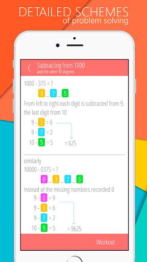 Math games, Mathematics 5.2.0 screenshots 10