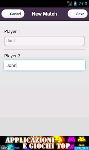 burraco scorekeeper screenshot 2
