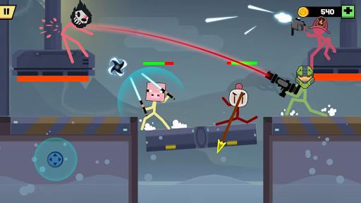 Stickman Fight Battle - Shadow Warriors 1.2.6 screenshots 1