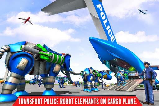Police Elephant Robot Game https screenshots 1