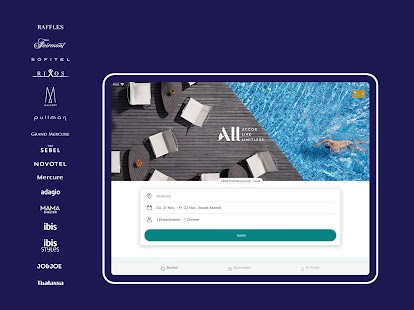 Accor All - Hotel buchen Screenshot