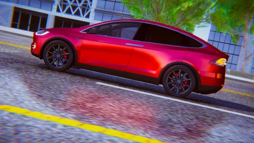 Electric Car Simulator: Tesla Driving 1.4 screenshots 5