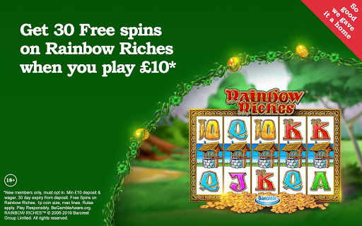 Rainbow Riches Casino: Slots, Roulette & Casino screenshots 9