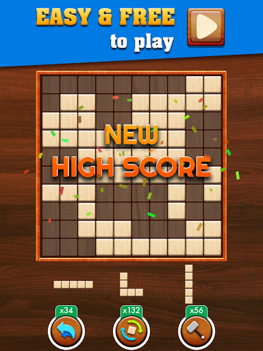 Woody Extreme: Wood Block Puzzle Games for free  screenshots 15