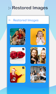 Photo Recovery App, Deleted video recovery Screenshot