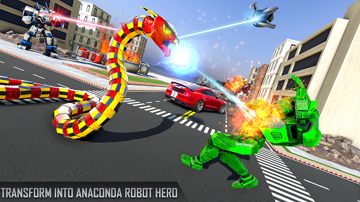 Anaconda Robot Car Games: Mega Robot Games 1.9 screenshots 4