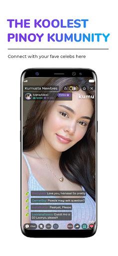 Kumu - Pinoy Livestream, Gameshow and Community 7.0.6 Screenshots 1