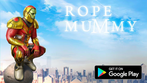 Rope Mummy Crime Simulator: Vegas Hero screenshots 1