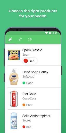 Yuka - food & cosmetic scan 3.34 Screenshots 1