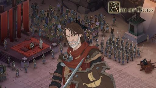 Télécharger gratuit Ash of Gods: Tactics APK MOD 1