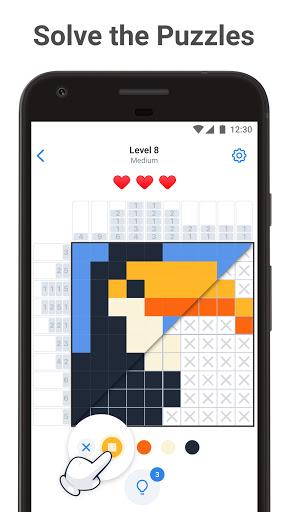 Nonogram.com Color - Picture Cross Pixel Puzzle 1.8.0 screenshots 1