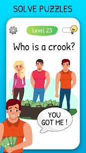 Who is? 2 MOD APK Tricky Chats and Brain (UNLIMITED BULB) 10