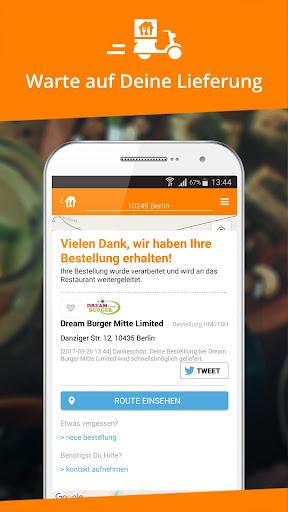 Lieferservice.de  screenshots 4
