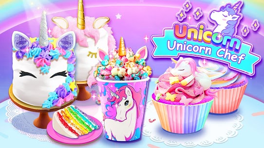 Girl Games: Unicorn Cooking Games for Girls Kids 5