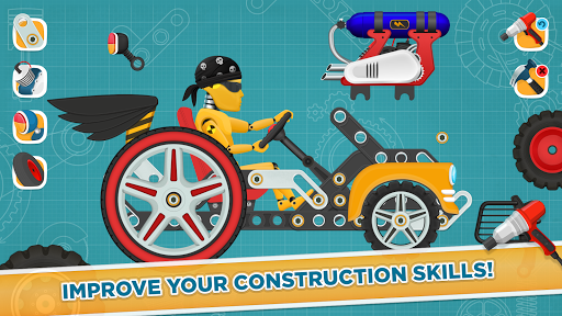 Car Builder and Racing Game for Kids 1.3 Screenshots 4