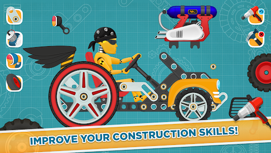 Free Car Builder and Racing Game for Kids 4
