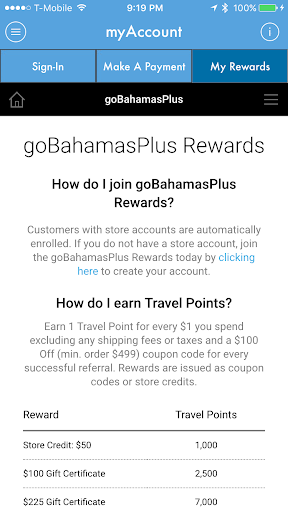 bahamas plus screenshot 3